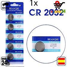 1x CR 2032 PILAS pila de botón baterías 3 V boton bateria CR2032 DL2032 ECR2032