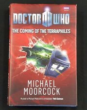 Doctor Who:The Coming of the Terraphiles - Michael Moorcock (2010,BBC Hardcover)