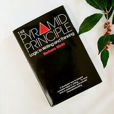 The Pyramid Principle Logic in Writing and Thinking Minto 3rd Ed Rev HC Business