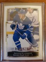 AUSTON MATTHEWS RC 2016-17 OPC GLOSSY ROOKIES BRILLIANT RC #R-1