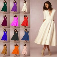 Dress Dresses Casual Maxi Cocktail V Neck Floral Womens sundress Party Fashion