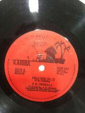 P.K. Chishala Pali Iwe Folk Kariba records RARE SINGLE Africa Zambia  vg+