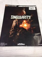 SINGULARITY BRADYGAMES OFFICIAL GAME STRATEGY GUIDE BOOK XBOX360 PS3