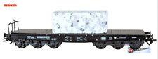 Marklin 48663 Heavy Duty Flat car with granit block - Sammp 705 off the DB