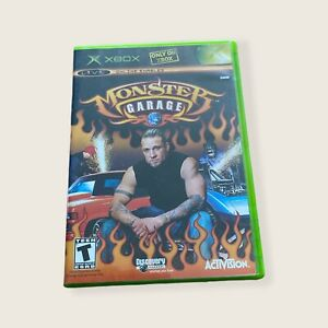 Monster Garage (Microsoft Xbox, 2004) Game With Manual