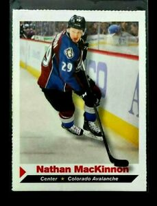 Nathan MacKinnon SI for Kids RC Rookis Avalanche Sports Illustrated