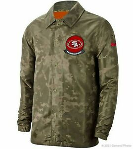 Men's Nike NFL San Francisco 49ers Salute to Service Jacket [AT7801-222/Sizes]