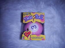 Mattel Games Vintage 1980 Magic 8 Pink Date Ball - The Game of Questions