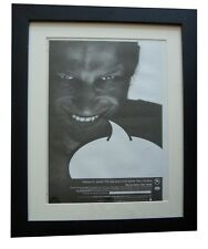 APHEX TWIN+Richard D. James+POSTER+AD+RARE+ORIGINAL 1996+FRAMED+FAST GLOBAL SHIP
