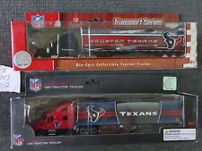Vintage NFL Houston Texans Trucks 2007 and 2012  New in Box Old School
