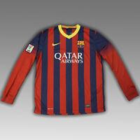 Barcelona 2013 2014 Soccer Football Jersey Shirt Long sleeve Nike Camiseta Kit