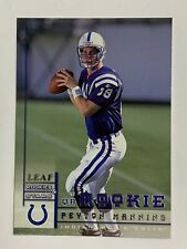 1998 LEAF ROOKIES AND STARS PEYTON MANNING ROOKIE RC #233 NMT/MT CLEAN!