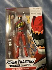 Power Rangers Lightining Collection Dino Charge Red Ranger