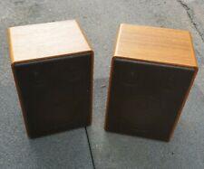 Canton GLE 50 HiFi Lautsprecher (Paar) aus Holz - retro -