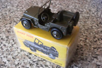 DINKY TOYS ATLAS 80B ARMY JEEP GREEN NEW IN BOX