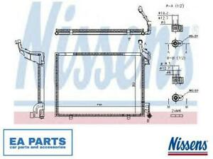 Condenser, air conditioning for FORD NISSENS 940525