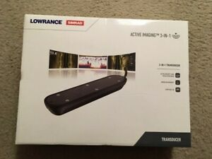 Lowrance/Simrad 3-in-1 active imaging transducer