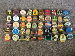 SET OF 50 REAL ALE BREWERY 32mm  PIN BADGES