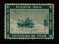 Puerto Rico SC# 133 Mint Hinged / Hinge Rem / Full Gum / Tone Dots - S8871