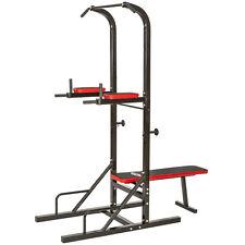 Gym tower kracht dip station + optrekstang optrekken dippen opdrukken buikspier