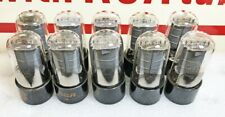 Lot of 10 Ex to NOS Test (Gm) RCA 6V6GTA Beam Power Tubes (441)