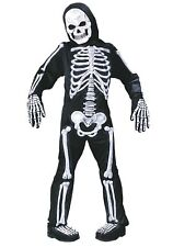 Skelebones Skeleton Boys Halloween Costume Size 6