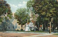 CORTLAND NY – Soldiers Monument - 1911