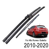 Kit Spazzole Tergi Anteriori Posteriore Tergicristallo per Alfa Romeo Giulietta