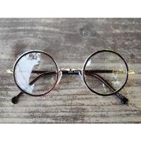 1920s Vintage Classic oliver retro eyeglasses 33R2 brown frames kpop peoples
