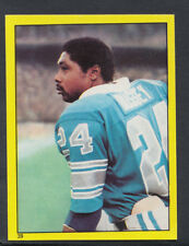 Topps 1982 American Football Sticker No 39 - Dexter Bussey, Detroit Lions (T105)