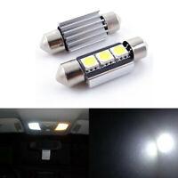 10 Stück Soffitte Canbus 36MM 3 SMD LED Xenon Weiß Innenraumbeleuchtung Licht
