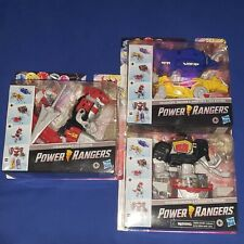 MMPR Mighty Morphin HASBRO Dinozords MEGAZORD 2020 Power Rangers Full Set Opened