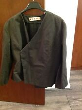 MARNI Khaki Ladies Jacket Size 10