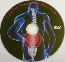 PILATES FOR LOWER BACK PAIN RELIEF EXERCISE CHRONIC MILD FITNESS WEIGHT LOSS DVD