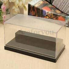 """5.9"""" Clear Acrylic Display Box Case Plastic Dustproof Protection Toy 2 Steps"""