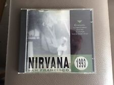 NIRVANA - San Francisco 1993 CD Raro !!!!!