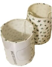 """2x IKEA 6"""" EMMIE BLOM lamp shades - ROSES floral - (402.241.02) NEW"""