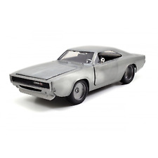 Fast and Furious 7 1968 Dodge Charger R/t Bare Metal 1 24 Scale Jada