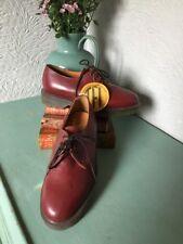 Genuine Vintage Original TredAir TFI, Dr. Martens Style OxBlood Shoes