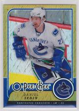 DANIEL SEDIN 2008-09 08-09 OPC O-Pee-Chee Metal X #318 rare parallel Upper Deck