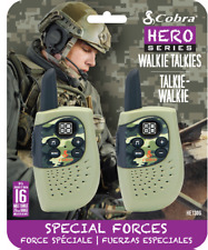 Cobra Hero Serie Walkie Talkies (Especial Forces) Totalmente Nuevo Y Sellado