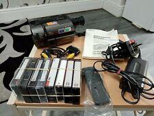 Retro Sony Vidéo CCD-TRV35E - 8 8 mm Hi8 Handycam Caméscope + Manuel & Extras