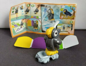 Kinder surprise - Applaydu - Grey Parrot paint brush - Animal adventures