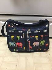 Lesportsac Animal Print Deluxe Bag