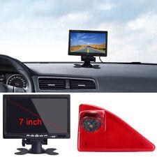 "Rückfahrkamera 7"" Monitor 3.Bremsleuchte Für Renault Master ab Nissan NV400 2010"