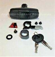 Leer Truck cap 100XQ /100XL / Tonneau 700 series handle w/keys & emblem 113436