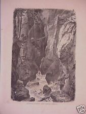 "Print, Wood Engraving, ""Alpine Guides & Their Perils,"