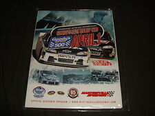 2012 MARTINSVILLE GOODY'S FAST RELIEF 500 NASCAR EVENT PROGRAM