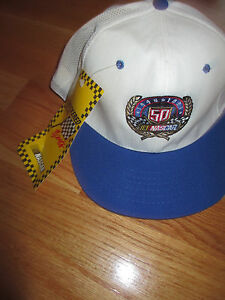 1948-1998 50th ANNIVERSARY NASCAR TOUR (Snap Back) Cap w/ Tags DALE EARNHARDT
