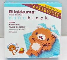 San-X Rilakkuma Music De Relax Nano Block, 1pc - Kawada  ,, h#6